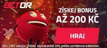 Online casino Betor - získej bonus 200 Kč a hraj nyní